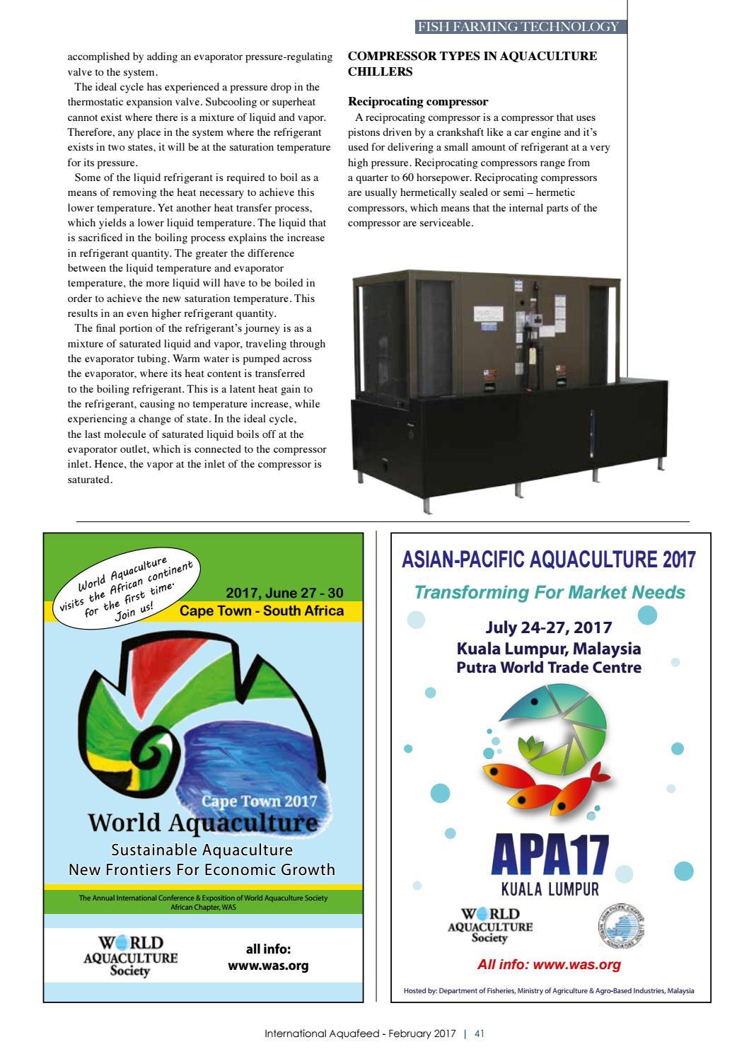 FEB 2017 - International Aquafeed magazine by Perendale
