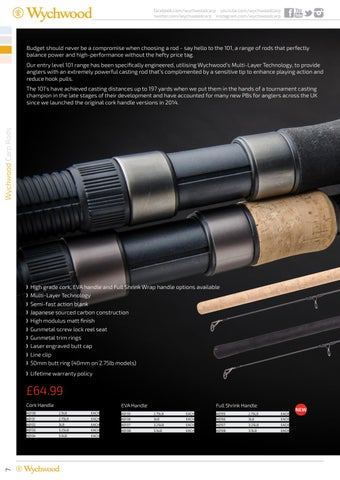 9a9d168f32 Wychwood Carp Catalogue Spring 2017 by Leeda - issuu