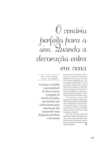 Page 23 of Entrevista | Chris Ayrosa