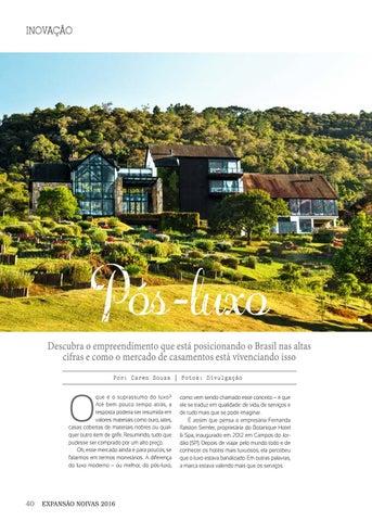 Page 40 of Inovação | Pós-luxo