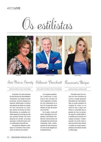 Page 50 of #ecolove | Os estilistas