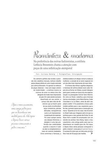 Page 95 of Moda | Romântica & moderna