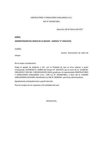 Carta poder para el banco ce la nacion by lindo vichito for Banco de venezuela solicitud de chequera