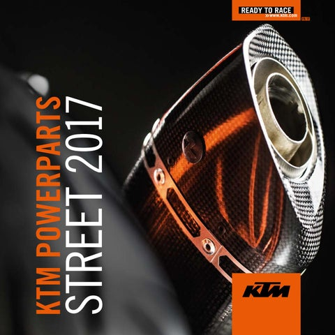 06835dd5e8 KTM POWERPARTS STREET 2017 by KTM Mega Service 78 - issuu