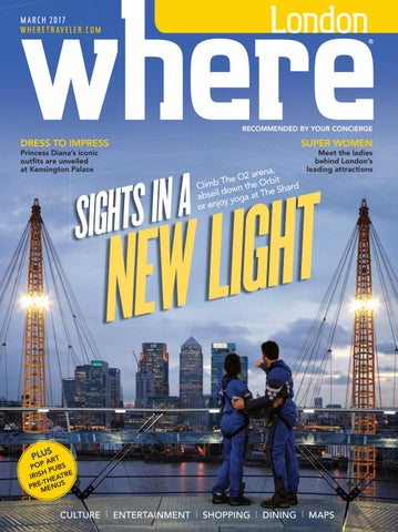 Where London March 2017 by Morris Media Network - issuu