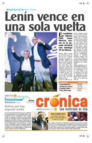 20febrero2017 9788 by Diario Crónica - issuu 5b57b7cc9e8