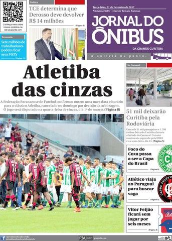 8817dde30a Editora Jornal do Ônibus - Edição do dia 21 - 02 - 2017 by Editora ...