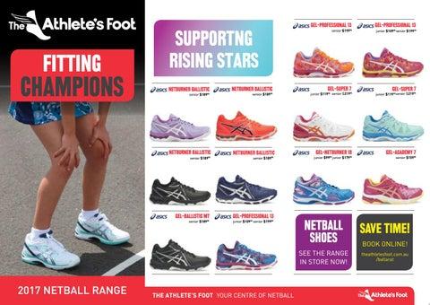 The Athlete's Foot Ballarat - Netball
