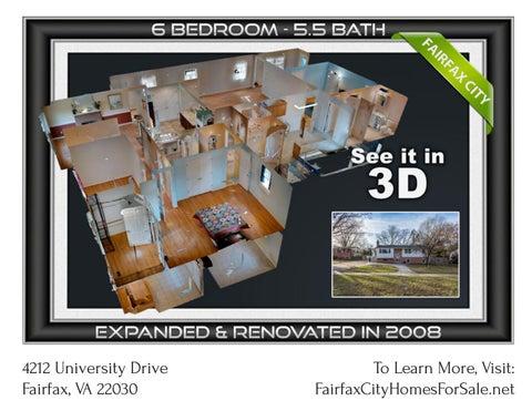 Fairfax Towne Estates Homes For Sale - 6 Bdrn, 5.5 Baths 5060 sqft Split Level Single Family Home Fo
