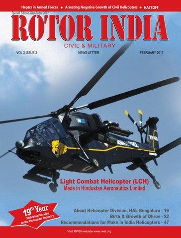 Spl issue rotor india aero india 2017 by RWSI - issuu