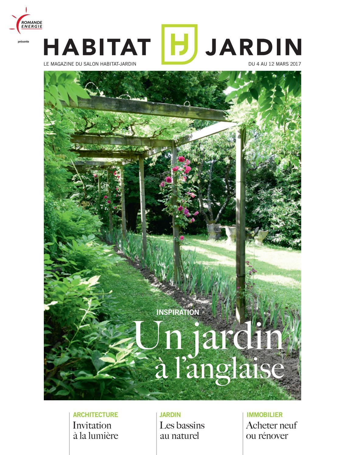 Habitat jardin 2017 by in dit publications sa issuu for Jardin habitat 2016