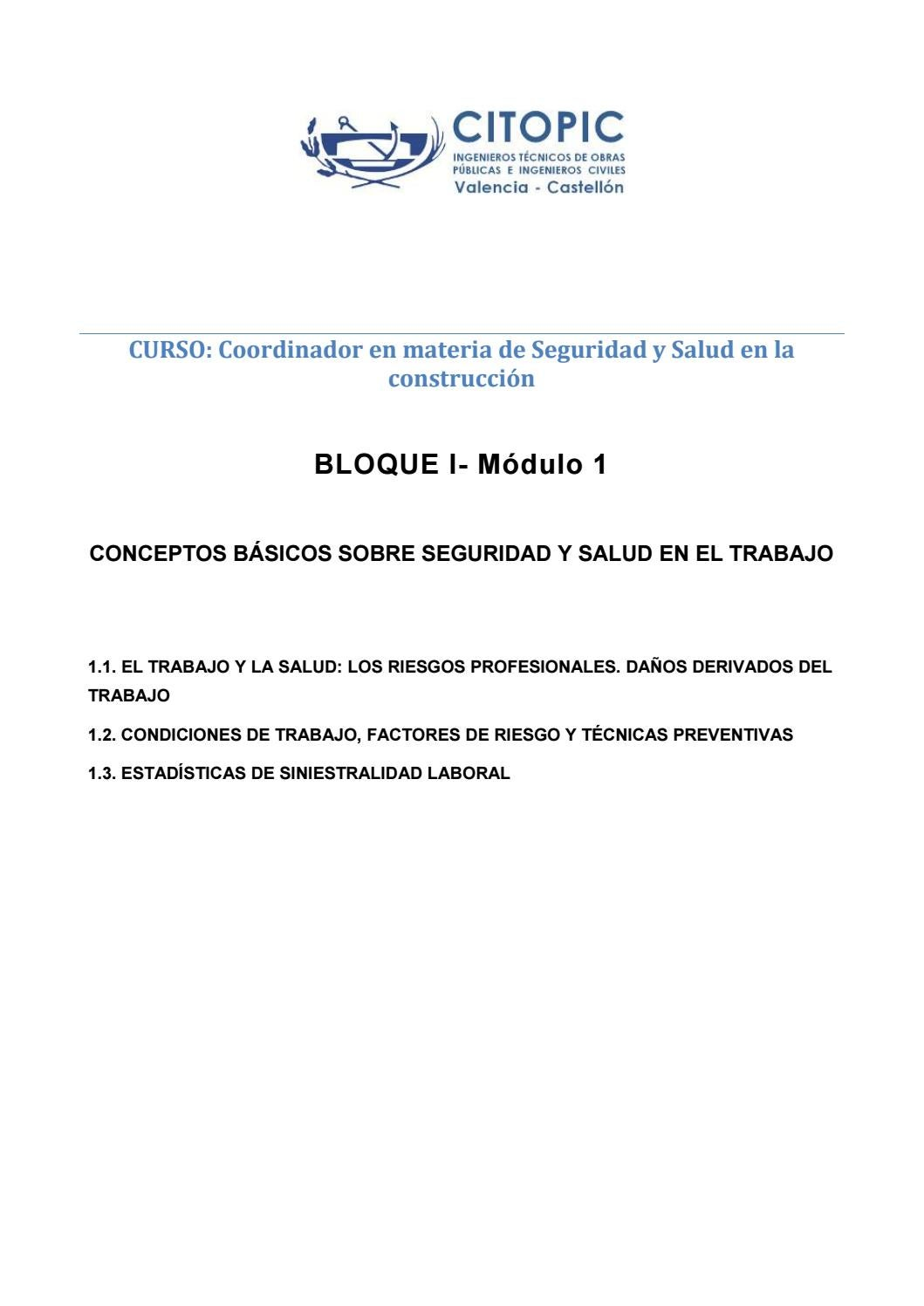 Csys Bloque I Modulo 1 By Citopic Cv Issuu