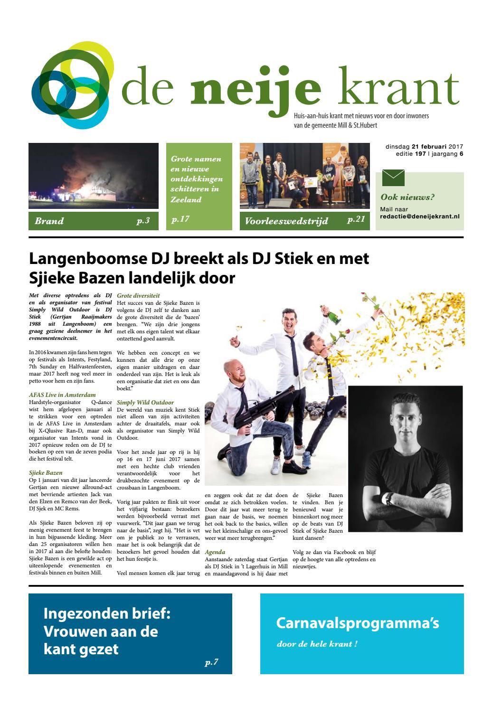 b1220ed3f0ad8a De Neije Krant jaargang 6 editie 197 by InMill - issuu