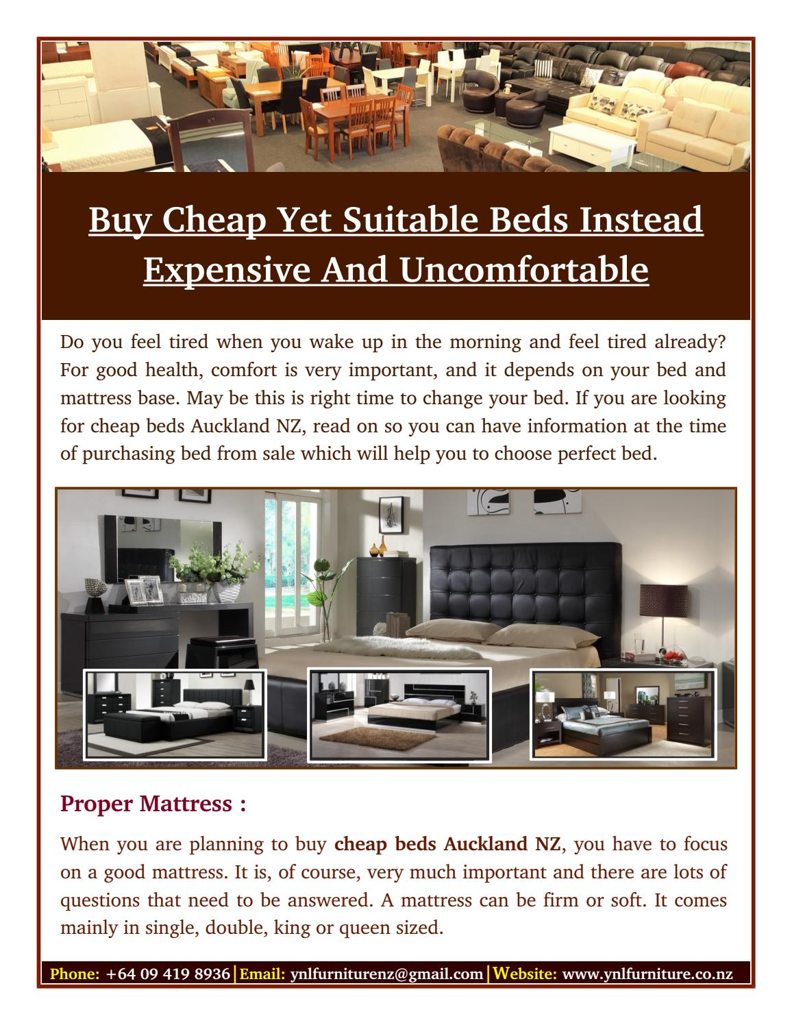 Buy Cheap Beds Instead Expensive And Uncomfortable by ...