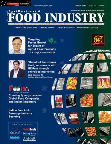 AB Food Industry - Special Edition for Gulfood - Dubai, AAHAR