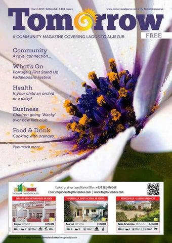 Tomorrow Lagos to Aljezur March 2017 Edition by Tomorrow Algarve - issuu e40edacd7be9a