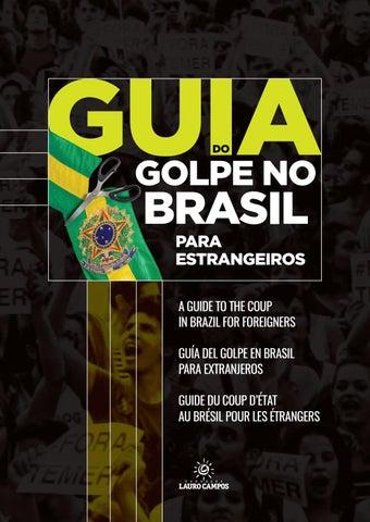 315ecc3a1 GUIA DO GOLPE NO BRASIL PARA ESTRANGEIROS by Fundação Lauro Campos ...