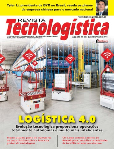 d036a2348 Revista Tecnologística Ed.246 - Set Out 2016 by Publicare - issuu