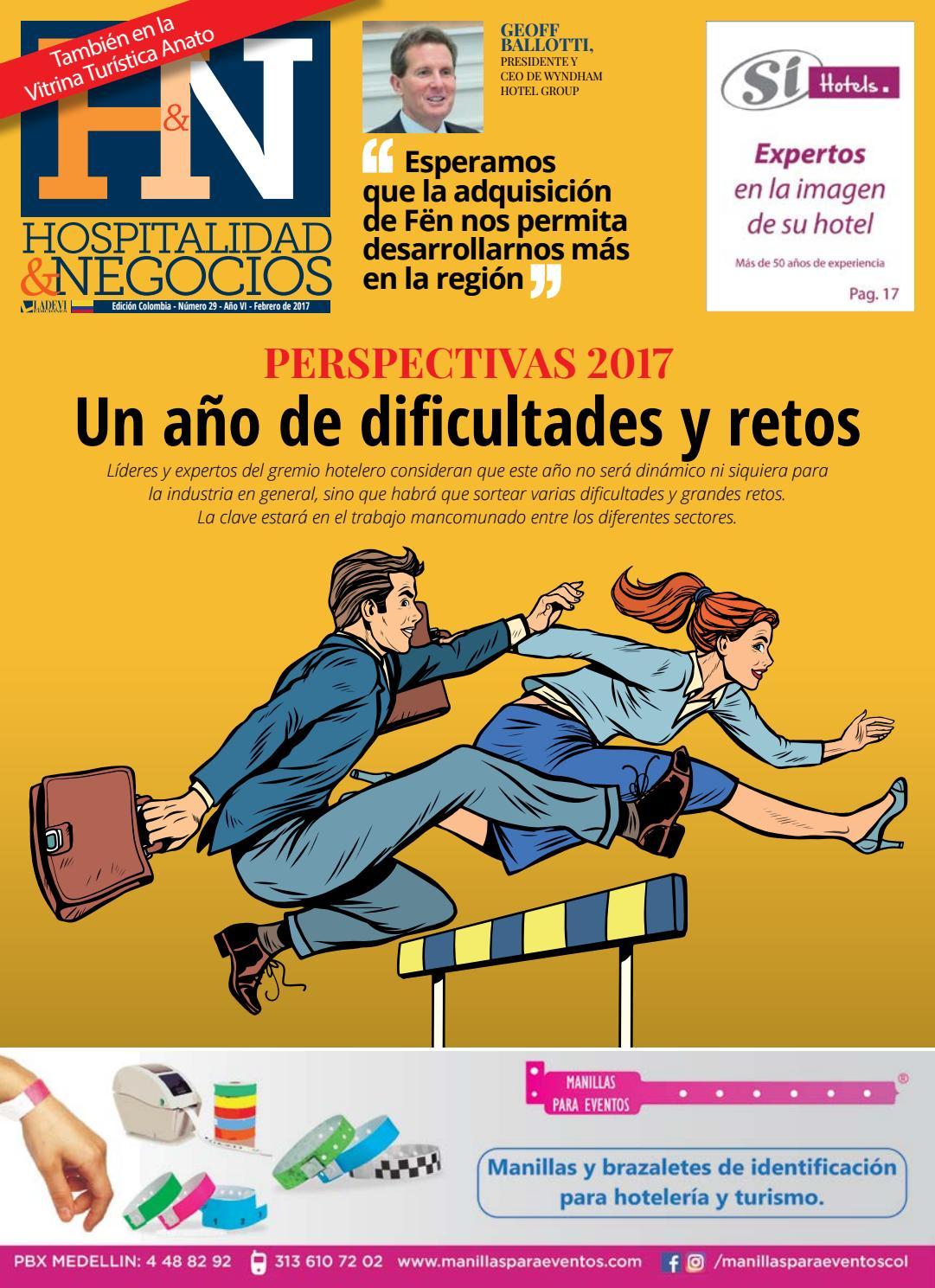 Hospitalidad y Negocios Colombia N° 29 by La Agencia de Viajes - issuu