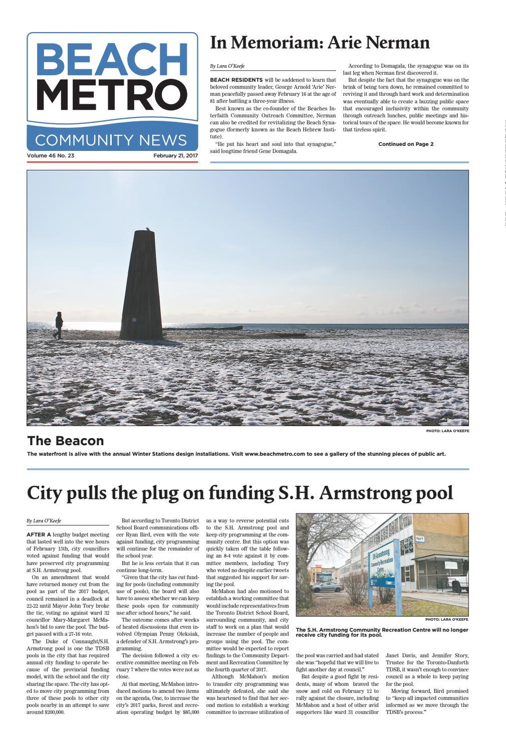 Beach Metro News February 21, 2017 by Beach Metro News - issuu