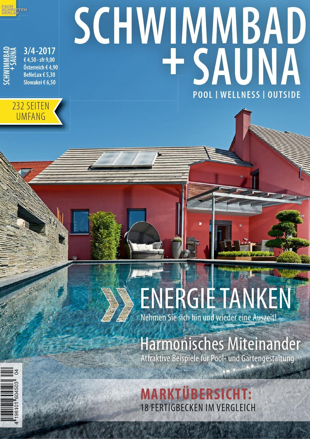 Schwimmbad + Sauna 3/4-2017 By Fachschriften Verlag - Issuu Wirkungsvolle Feuerstelle Poolbereich