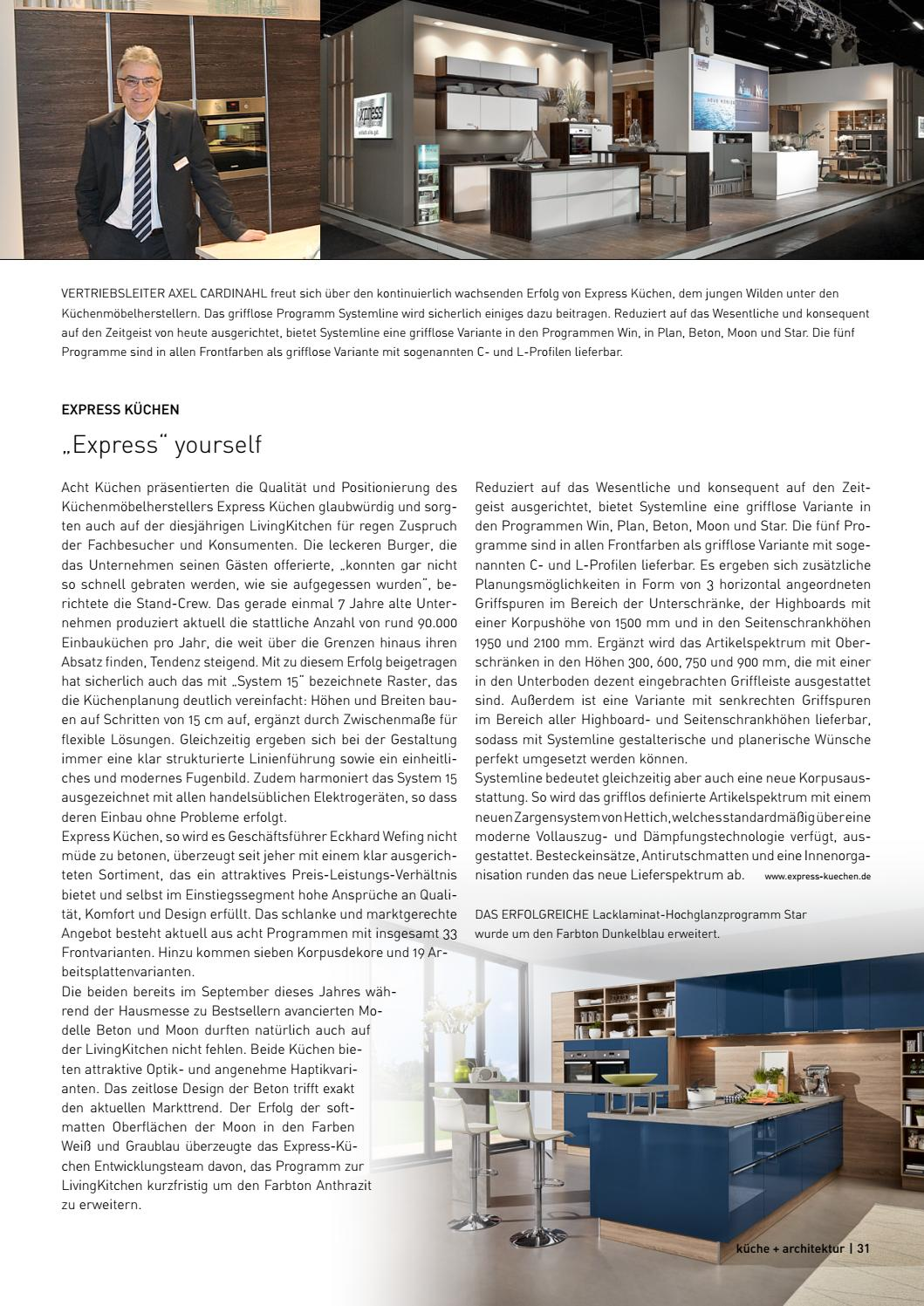 Kuche Architektur 1 2017 By Fachschriften Verlag Issuu