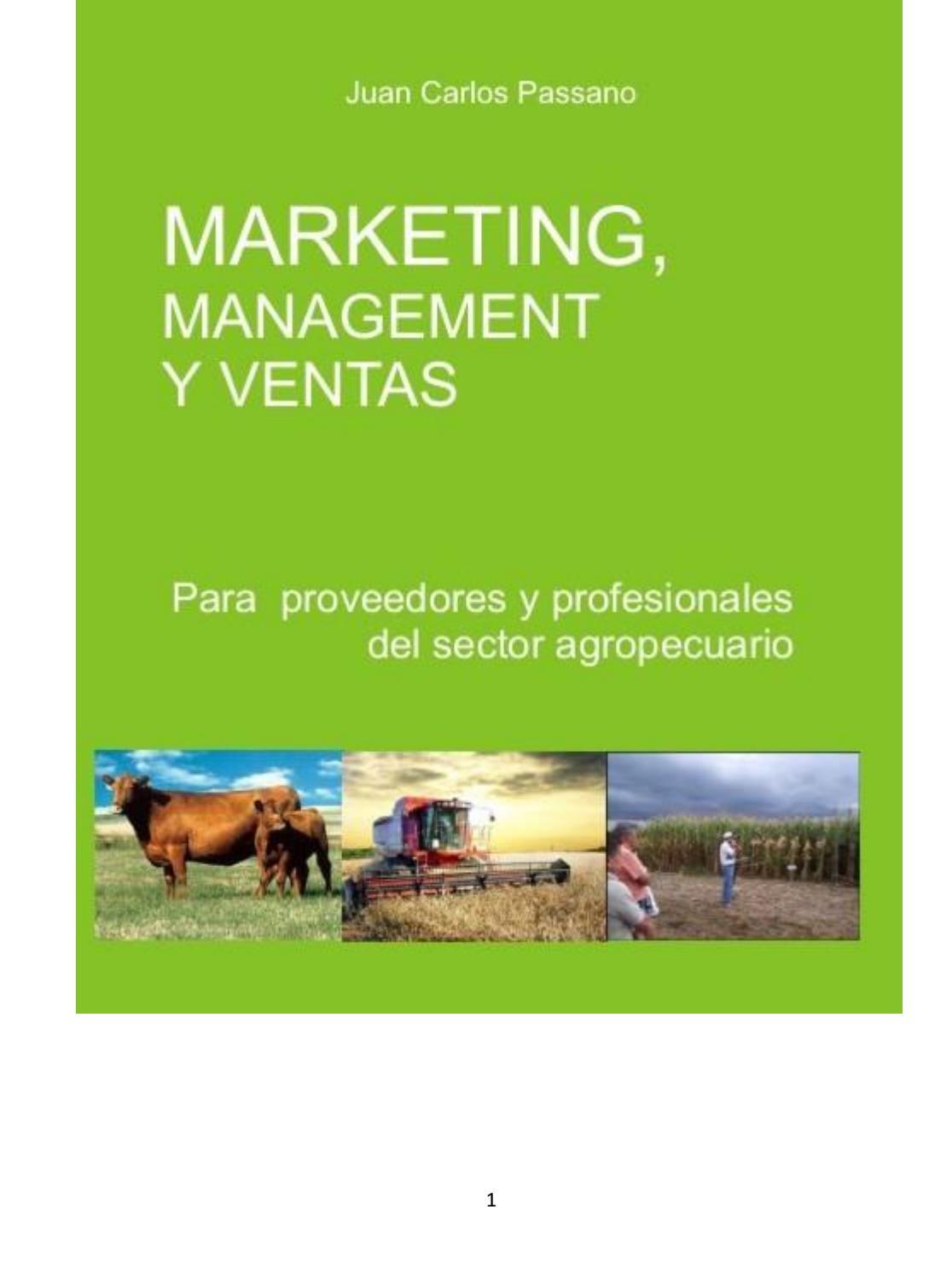 Marketing, Management y Ventas para Proveedores Agropecuarios y ...