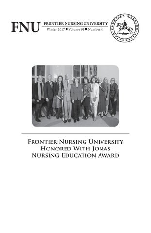 Winter 2017 Fnu Quarterly Bulletin Volume 91 Number 4 By Frontier