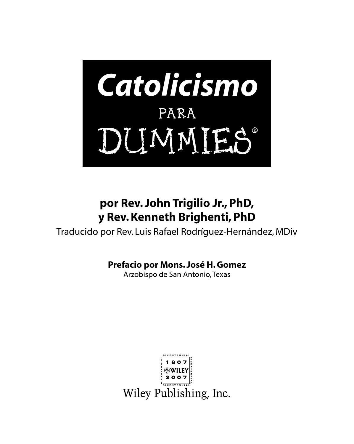 Catolicismo para dummies by henry hdz - issuu