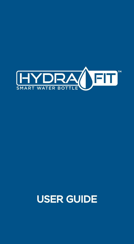 hydrafit water bottle instructions