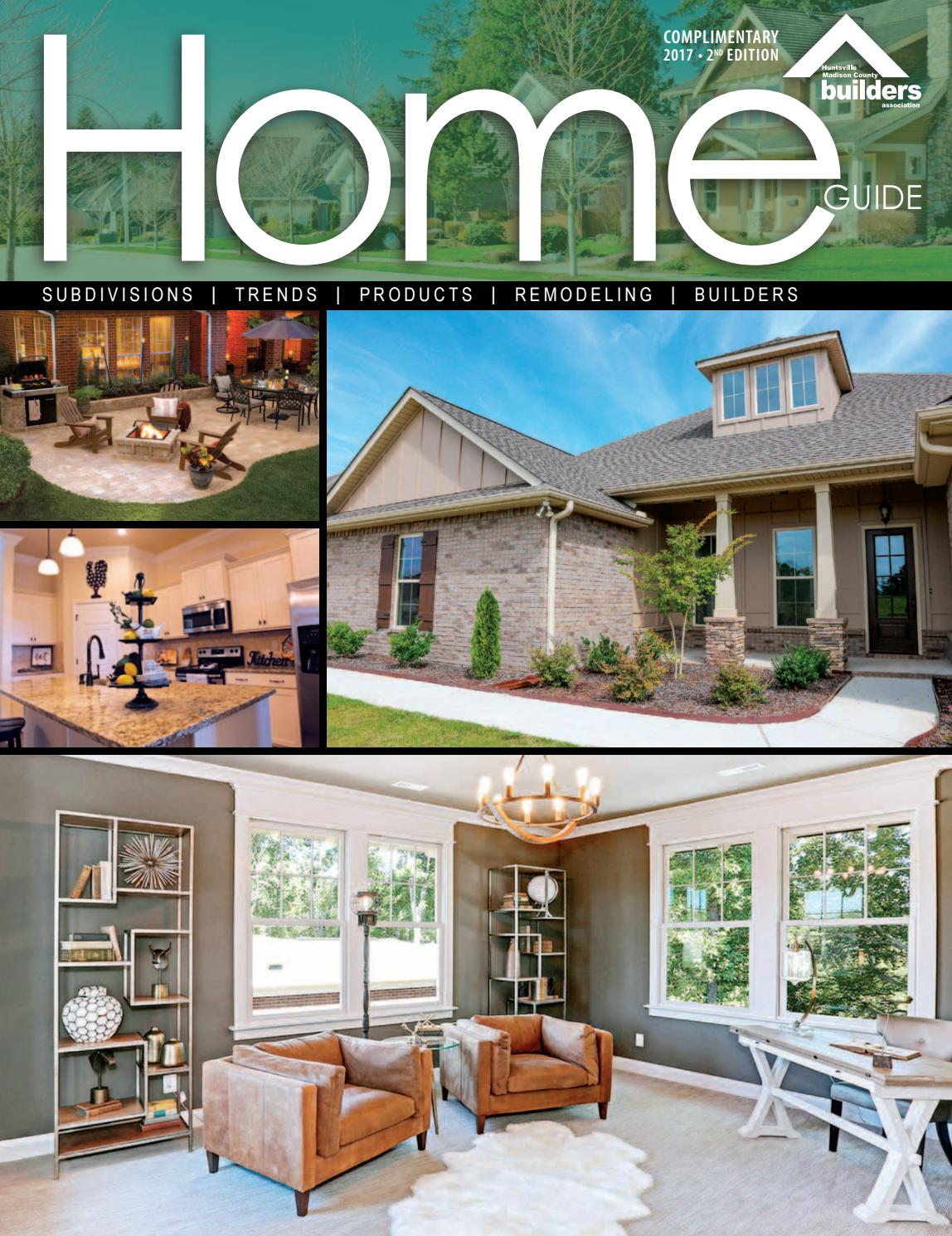 2017 Hmcba Home Guide By Huntsville Madison County