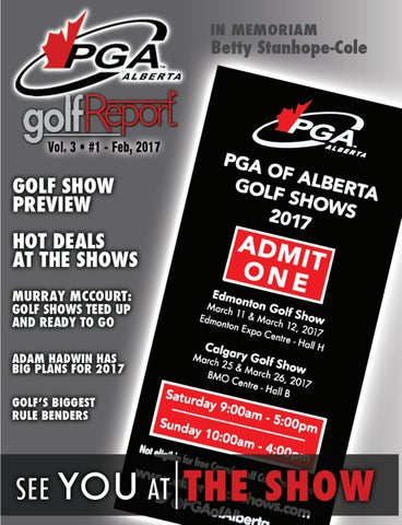 f5e817a8c09492 PGA Of Alberta Golf Report - February Issue by Inside Golf Inc. - issuu