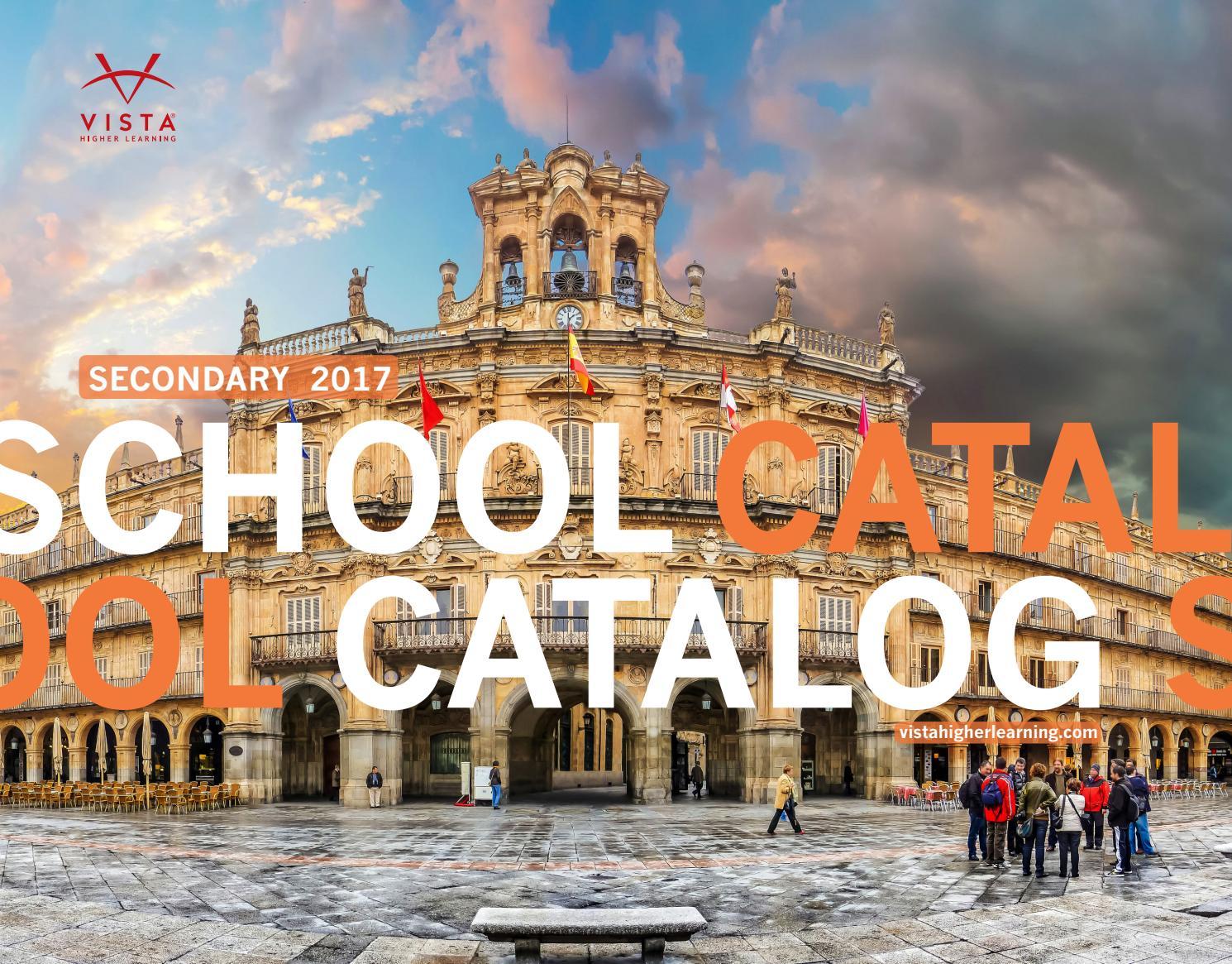 Vista Higher Learning School 2017 Catalog by Vista Higher Learning - issuu