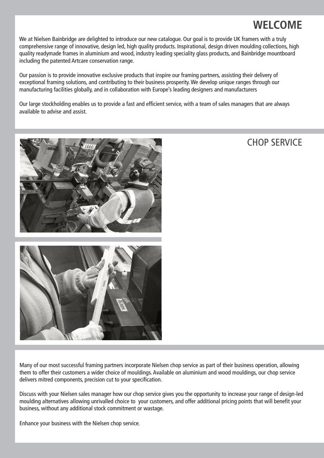 Nielsen Bainbridge - Professional Framing Products Catalogue - Feb