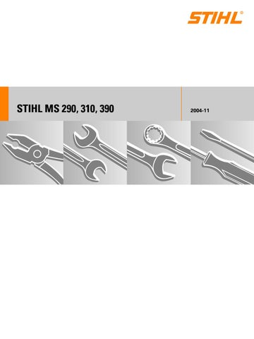Stihl MS 290, 310, 390 Service Manual by glsense - issuu