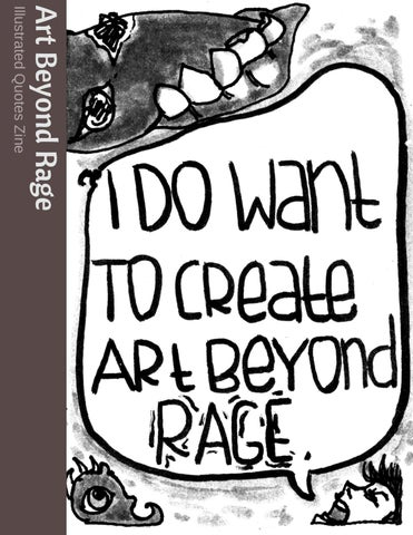 Art Beyond Rage Zine