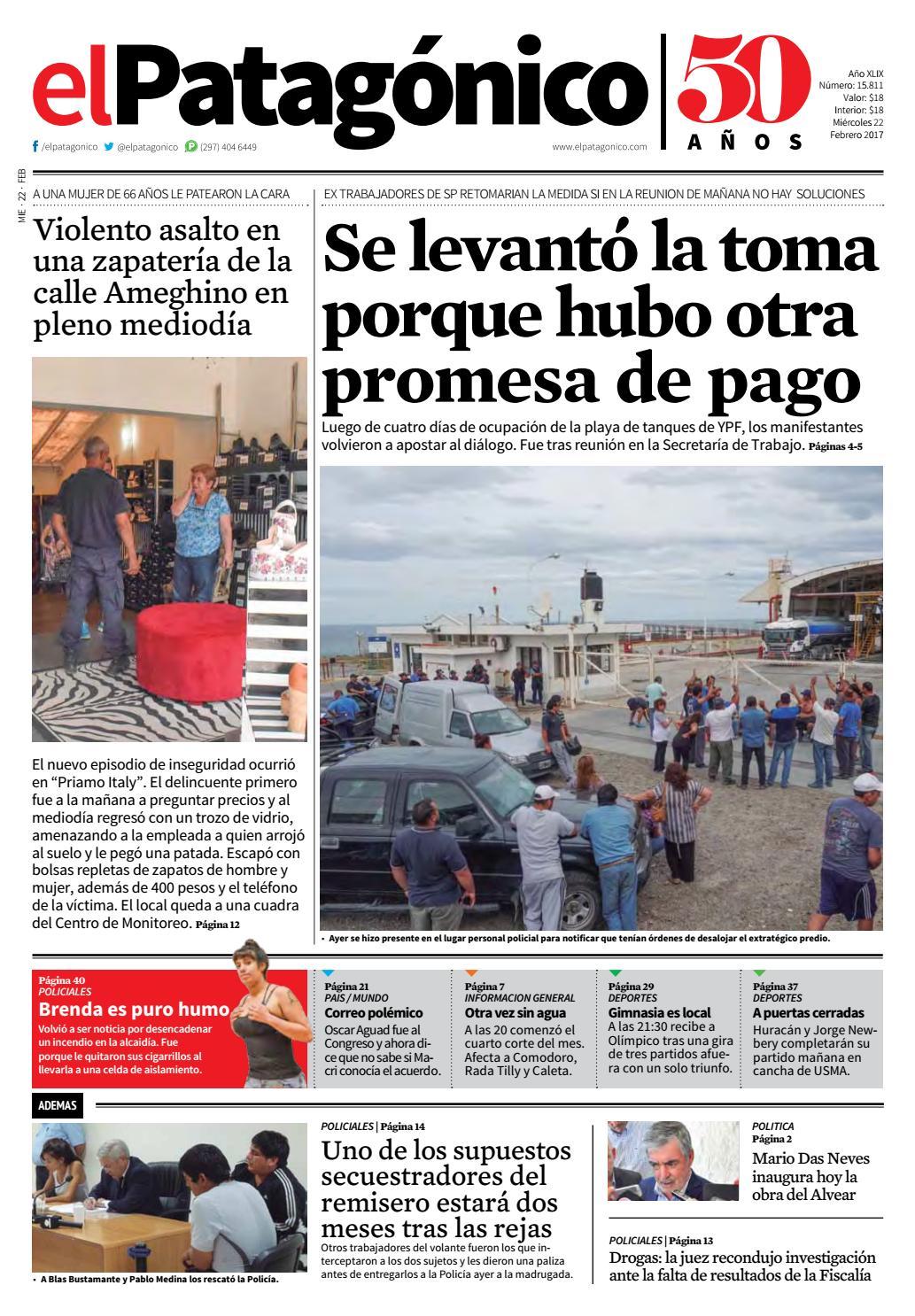 edicion232221022017.pdf by El Patagonico - issuu 1354ca8c0c2