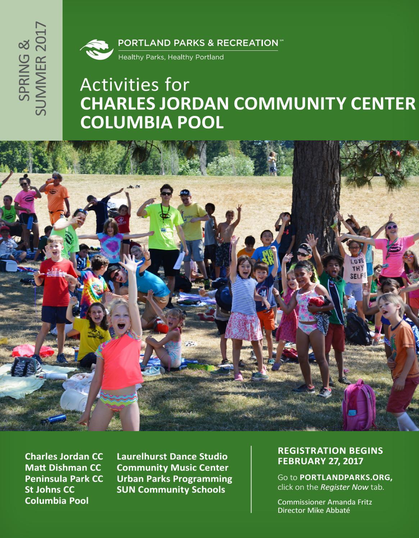 Charles Jordan Community Center and Columbia Pool - Spring