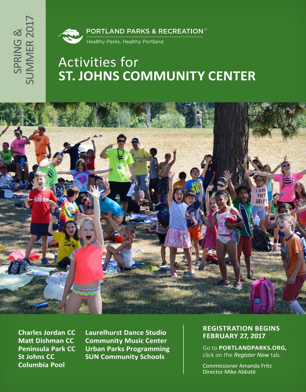 St. Johns Community Center - Spring/Summer 2017