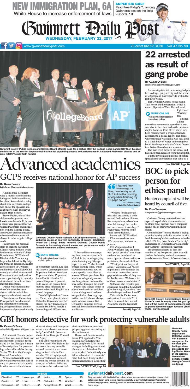 February 22 2017 Gwinnett Daily Post By Gwinnett Daily Post Issuu