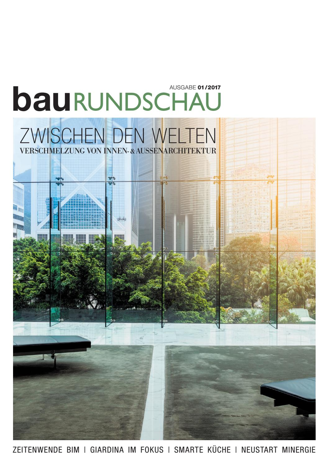 bauRUNDSCHAU 01/2017 by rundschauMEDIEN AG - issuu