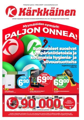 Kärkkäisen mainos (8 2017) (P) by Tavaratalo J. Kärkkäinen Oy - issuu e5d63e939d