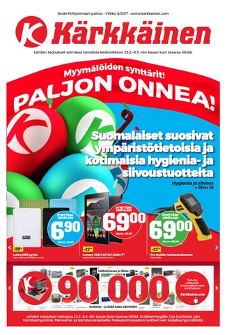new style 71c67 54e16 Kärkkäisen mainos (8 2017) (K-P)