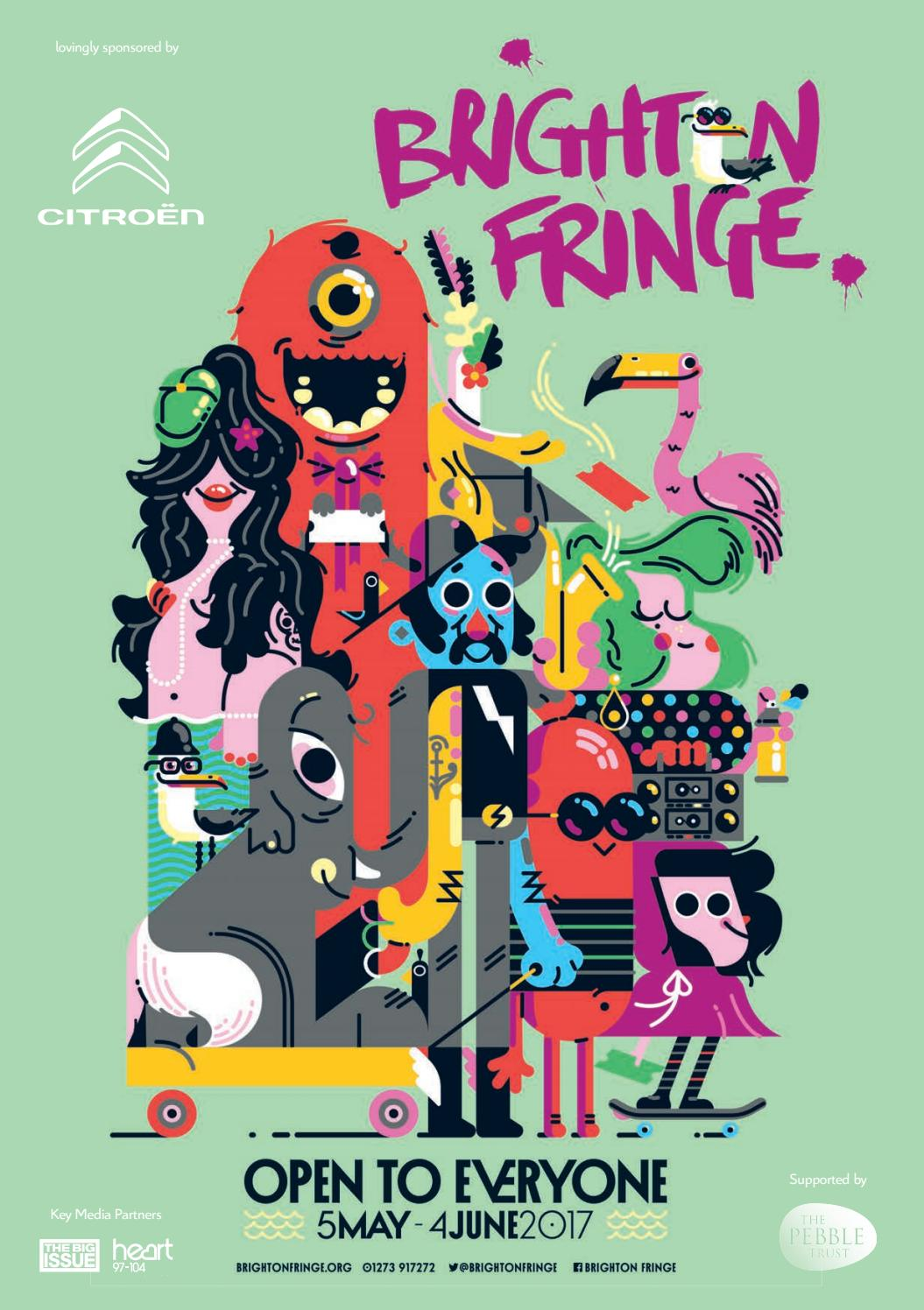 Brighton Fringe Brochure 2017 by Brighton Fringe - issuu