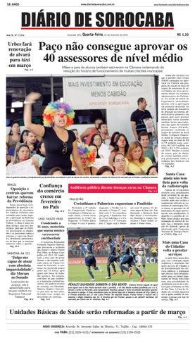 c32b051e228 Edição 22 de fevereiro de 2017 by DIÁRIO DE SOROCABA - issuu