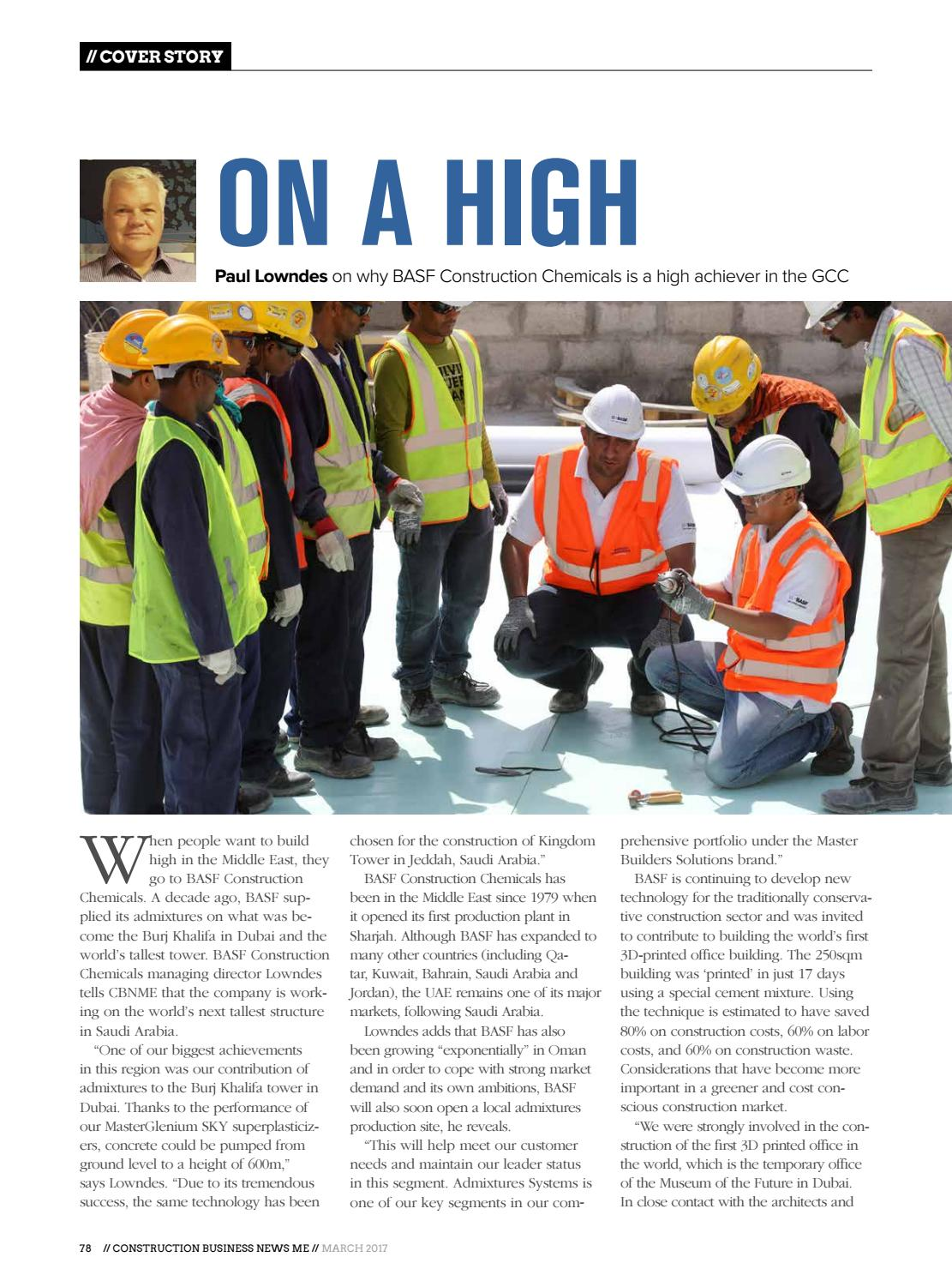 Construction Business News ME - March 2017