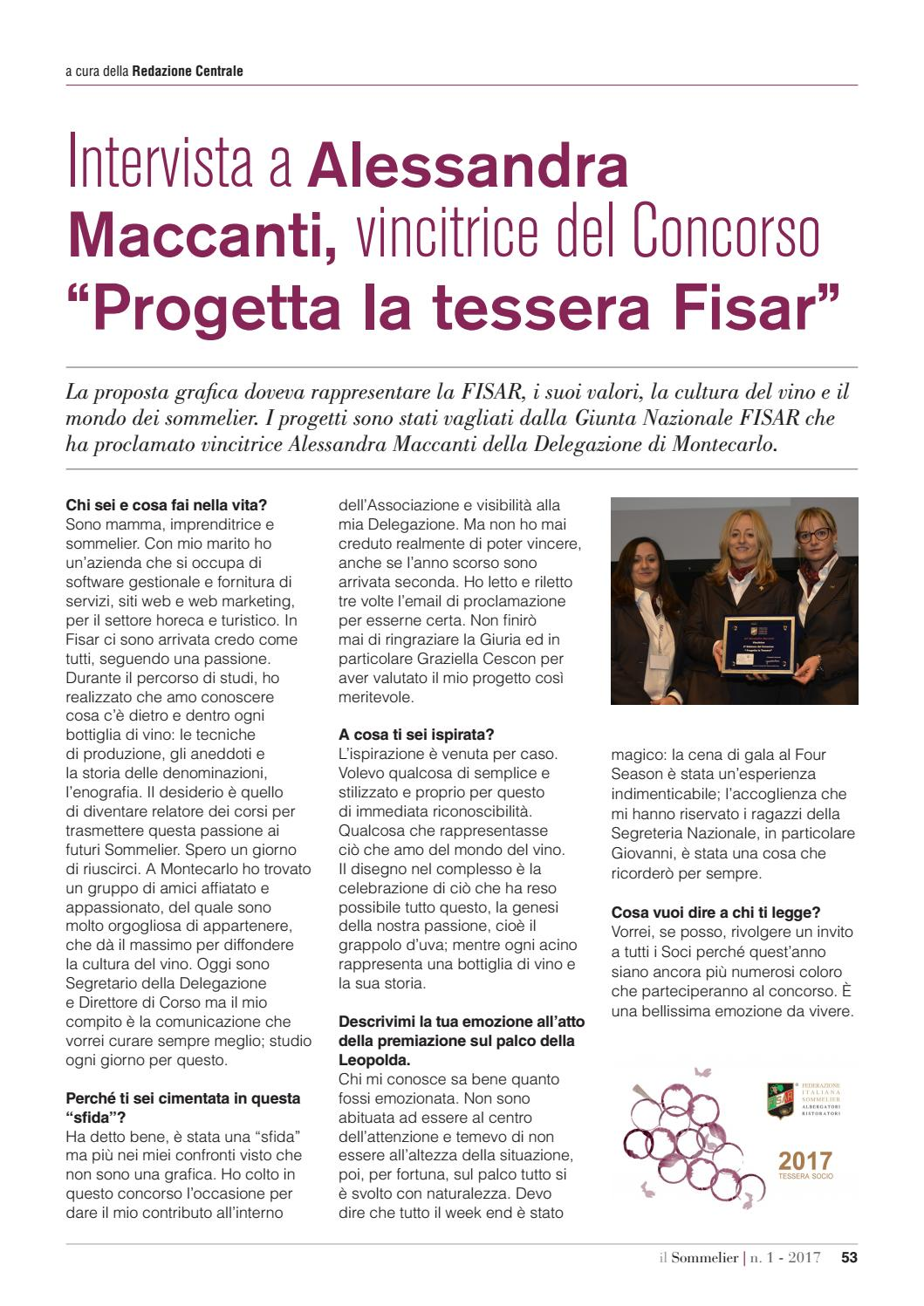 4cfc56092c9a Il Sommelier n.1 2017 by F.I.S.A.R. - issuu