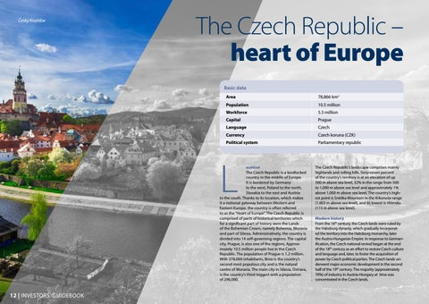 Page 16 of The Czech Republic - heart of Europe