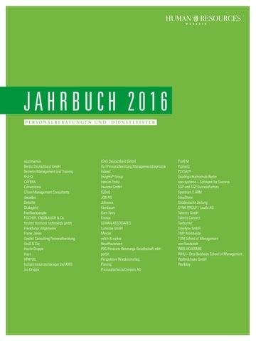 Hr jahrbuch 2016 by Quadriga Media Berlin GmbH - issuu