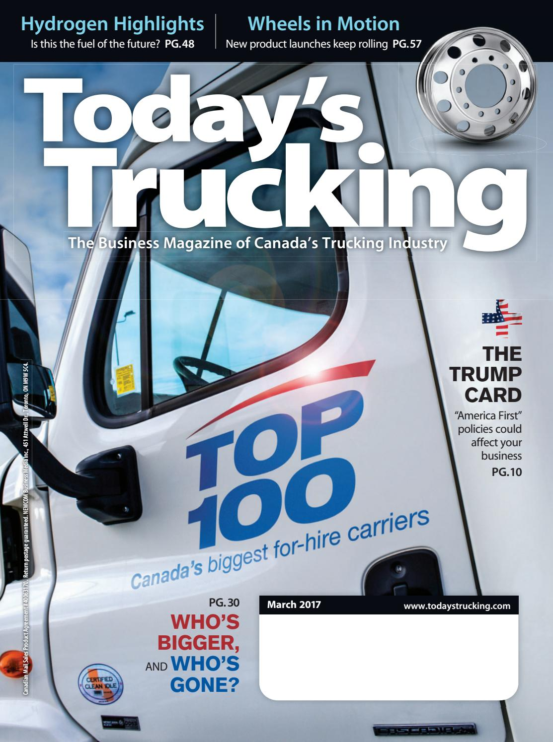 Today\'s Trucking March 2017 by Annex-Newcom LP - issuu